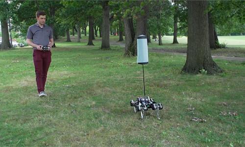 Robotic tails can make orientation tasks easier for mobile robots.